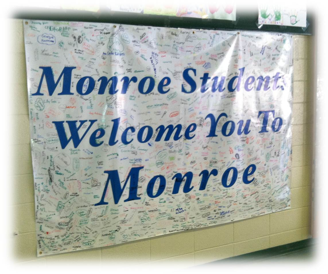Monroe AYSO Banner for Sandy Hook Elementary School